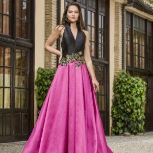 Vestido fiesta X&M alma couture