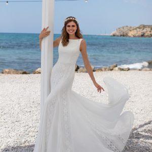 Vestido de novia Lele