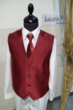 chaleco y corbata de niño